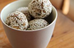 Breakfast Balls in a bowl