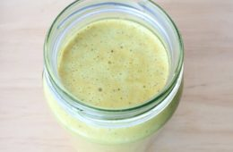 Ginger and Turmeric Paste in a glass jar
