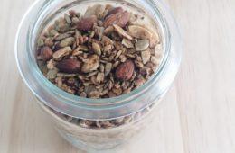 Nigella's Healthy Granola in a weck jar