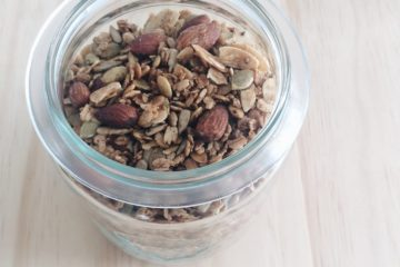 Nigella's Healthy Granola in a weck jar